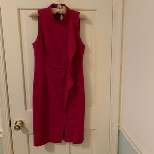 RACHEL Rachel Roy Dresses - Rachel by Rachel Roy Fuchsia Pink Sheath Dress